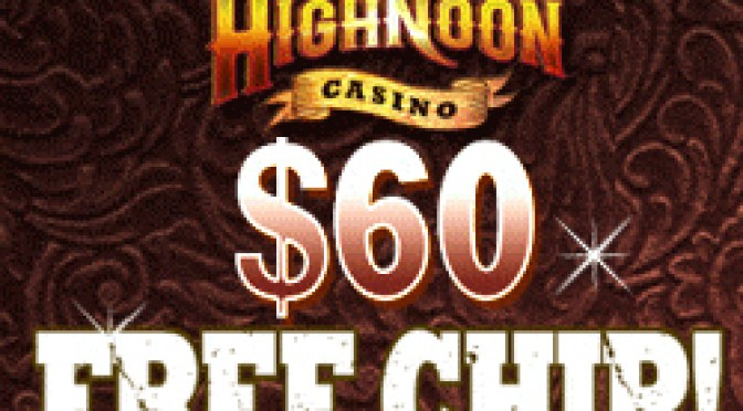 High Noon No Deposit Bonus