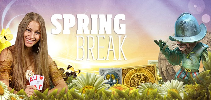 Spring bonuses available at the best online casino!