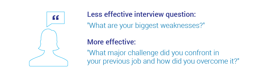 Common Interview Questions What are the Most Effective? - sales advisor interview questions