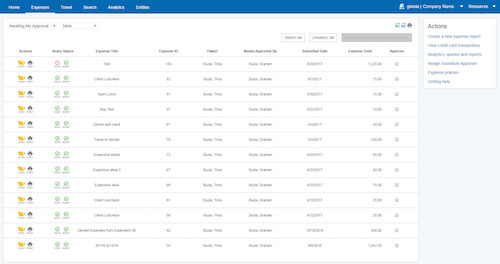 Expense Report Software Paychex