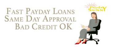 Fast Payday Loans Online Same Day   Payday Sunny