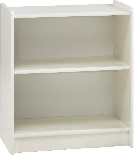 Kids Low Bookcase White Mdf Bookcases