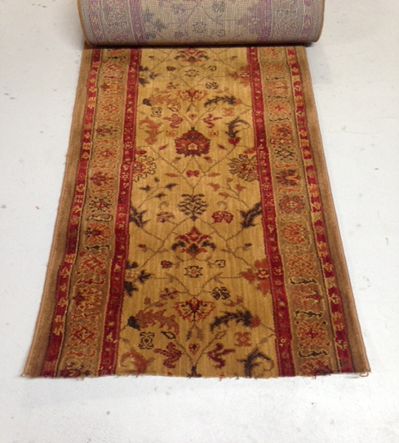 Karastan Guilded 27 Inch Wide Finished Runner Price Is