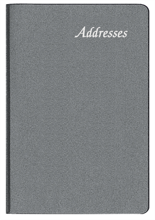 PA-55 Frosted Mini Address Book 225 x 325 Inches