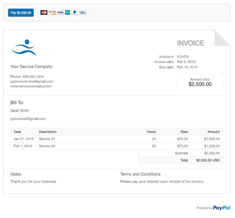 Servicing-invoice-templatejpg - invoice templte