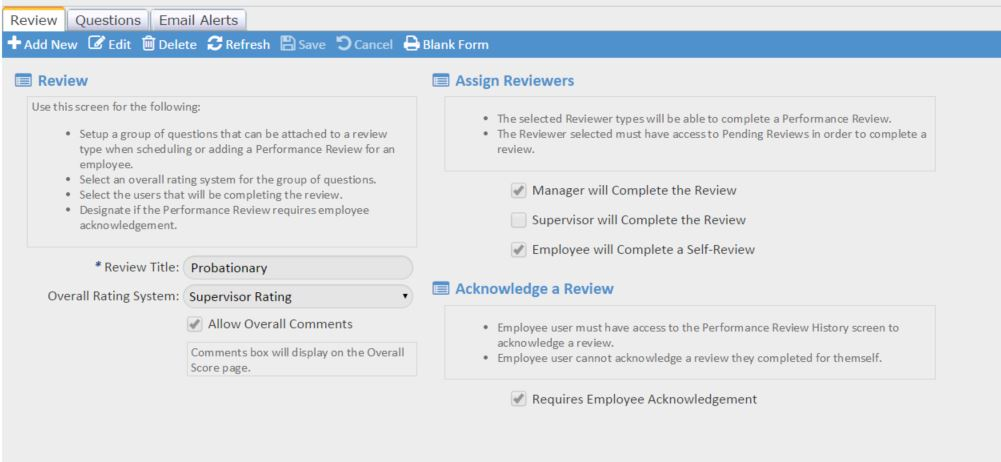 Performance Management Software Isolved Performance Review Software