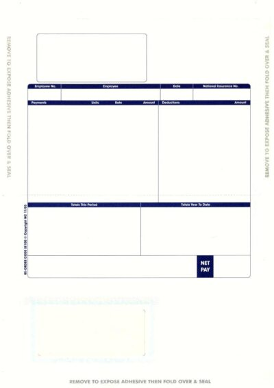 Sage Payslips Sage Invoices Sage Statements Self Seal Forms - download payslips