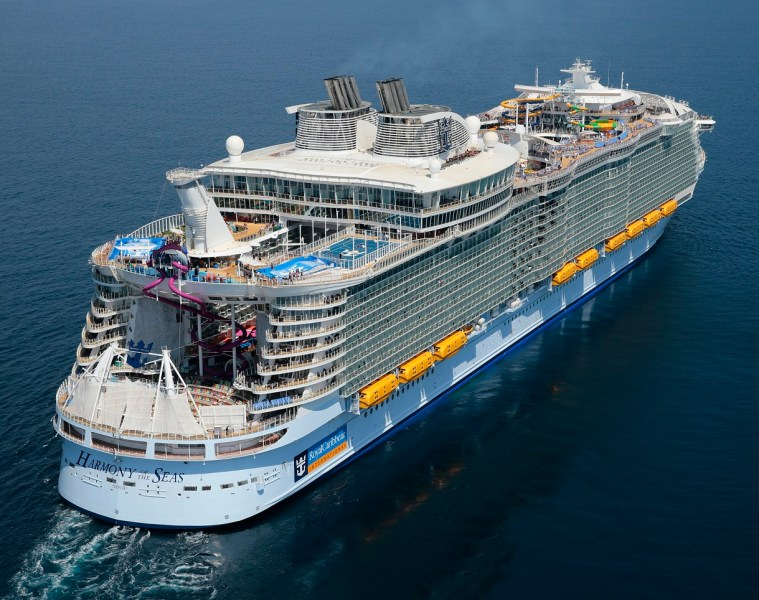 harmony of the seas reportage