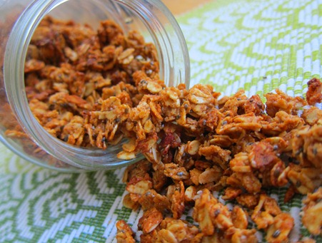 almond butter granola 032