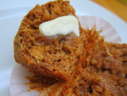 oatmeal banana flax muffins 010
