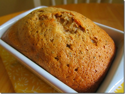 banana bread mini loaf 002