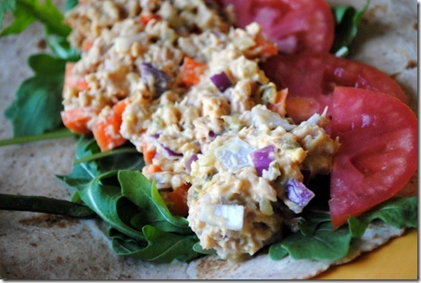 tuna salad wrap 019