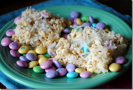 easter rice krispie treats 082