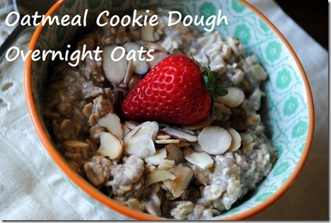 overnight oats oatmeal cookie