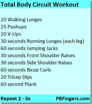 circuit workouts ericathevegan
