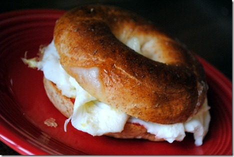healthy egg sandwich breakfast