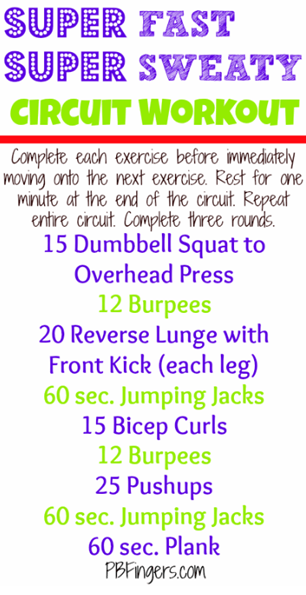 fast circuit workout