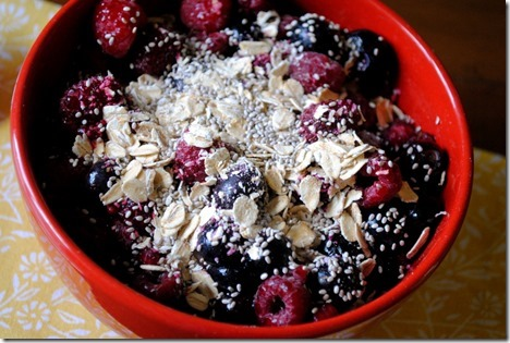 Cottage Cheese and Fruit Bowl