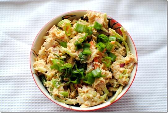 Healthy Curried Tuna Salad