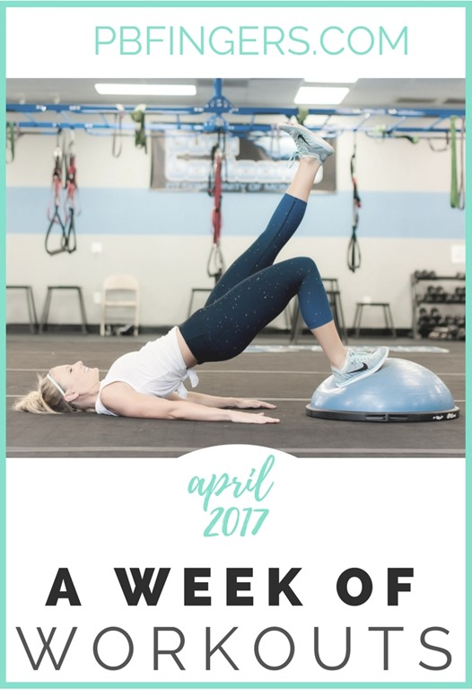 Weekly Workout Plan A Week of Workouts (Total Body, Cardio, Legs - weekly workout plan
