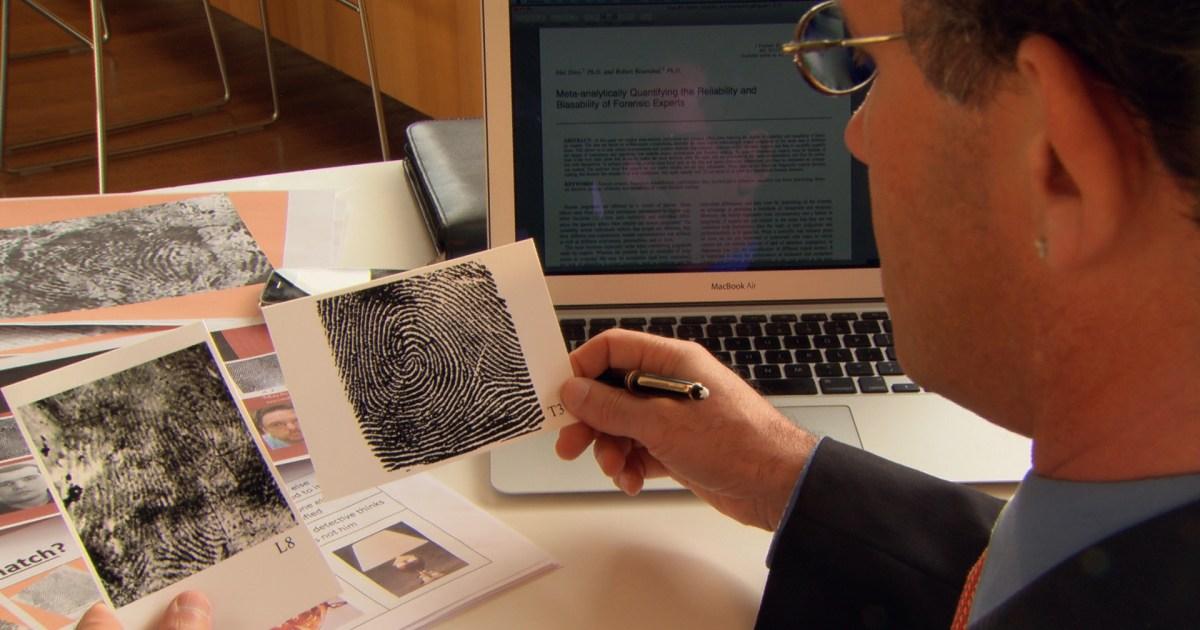 can unconscious bias undermine fingerprint analysis the