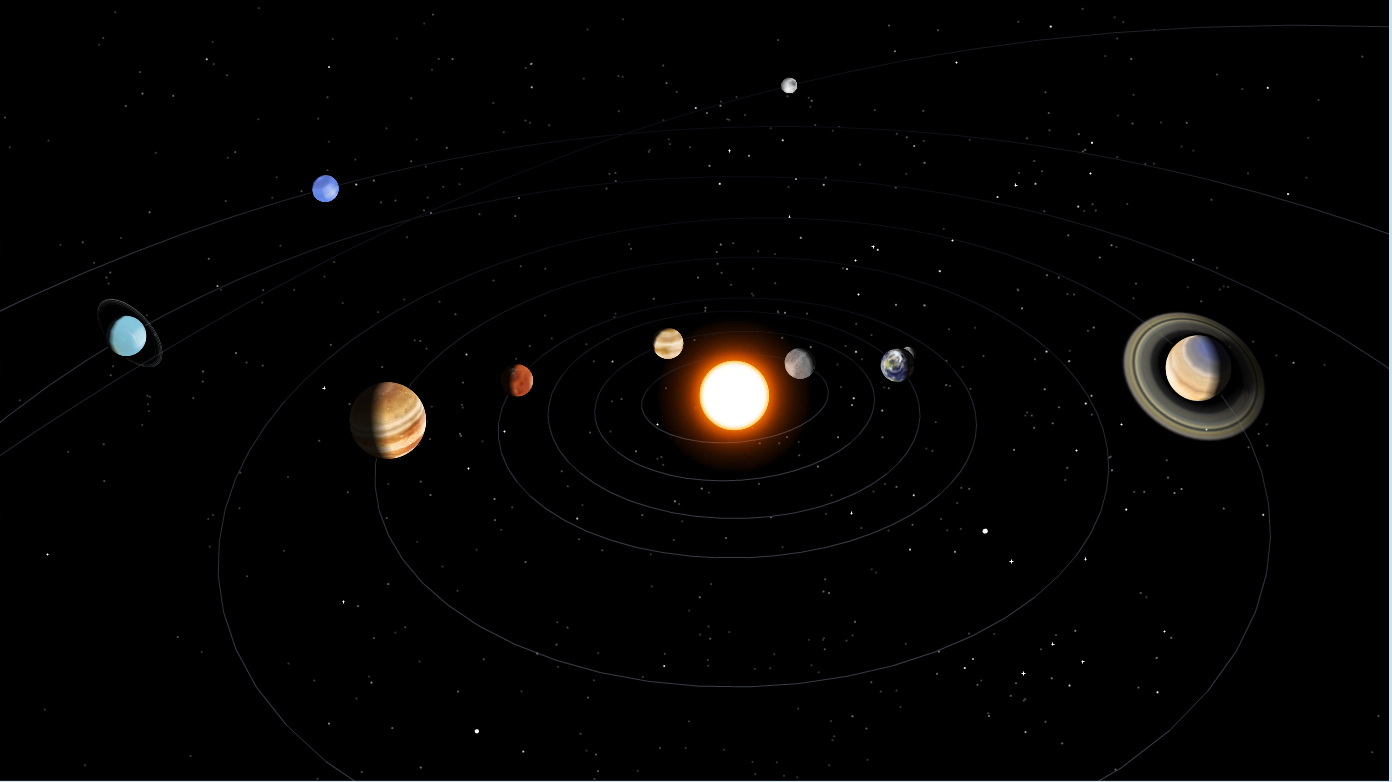 Earth And Moon 3d Wallpaper Nova Official Website Tour The Solar System