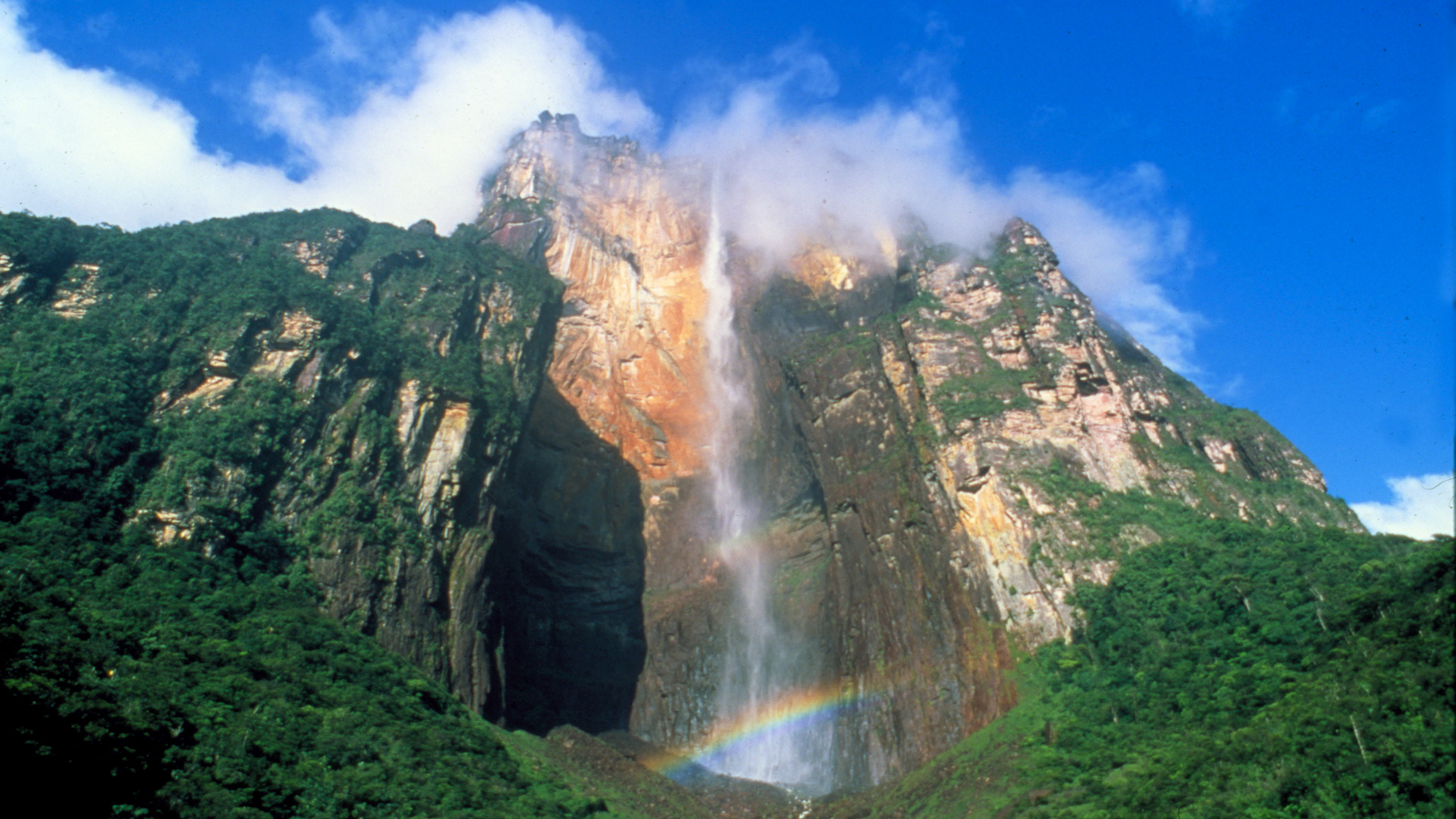 Angel Falls Hd Wallpaper Living Edens The Lost World About Nature Pbs