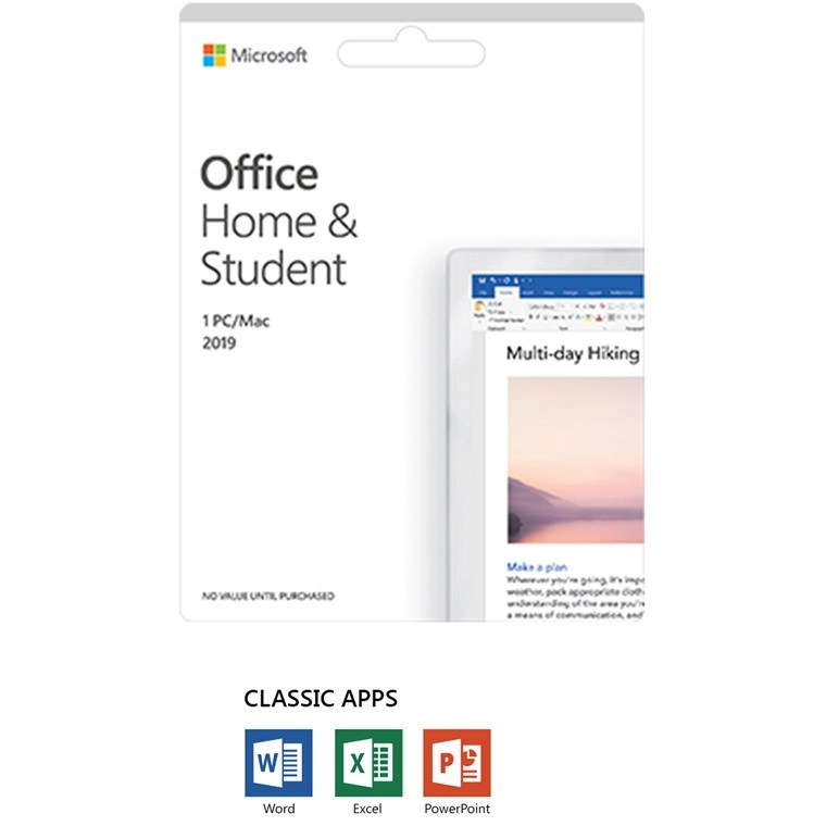 Buy the Microsoft Office 2019 Home  Student Medialess for 1 Device
