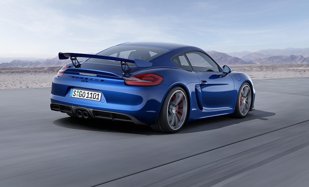 Porsche unveils Cayman GT4 Porsche Club of America
