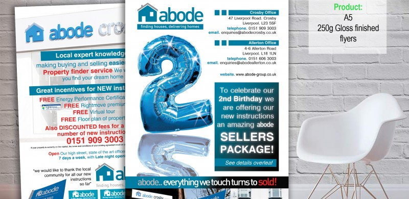 Abode Estate Agents \u2022 PCA Creative \u2022 ORMSKIRK \u2022PCA Creative \u2022 ORMSKIRK \u2022