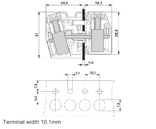 wiring terminal blocks