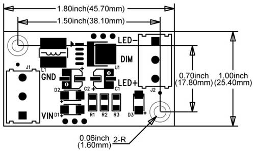 led driver power supply schematic