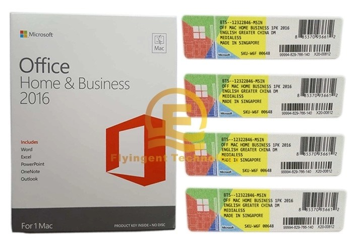 DVD / CD Media Microsoft Office 2016 Home And Business For Mac Full - office cd