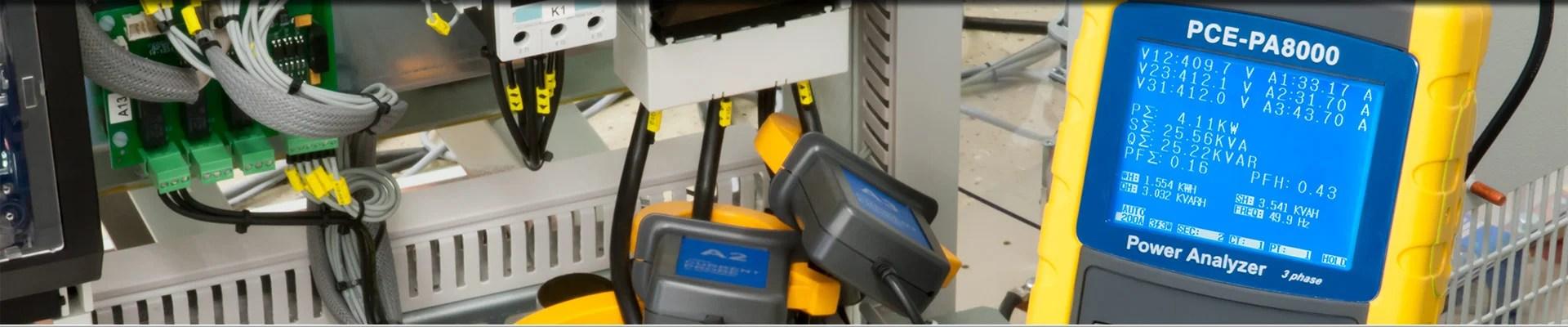 Power Quality Analyser / Power Analyzer PCE Instruments