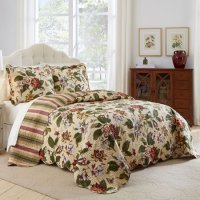 Waverly Laurel Springs 3 Piece King Size Bedspread Set