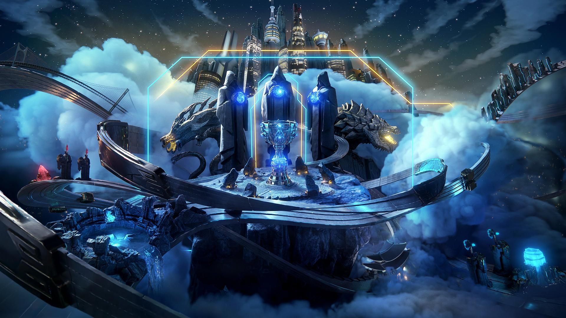 Wallpaper Korea 3d Here Are The Group Stage Draws For League Of Legends