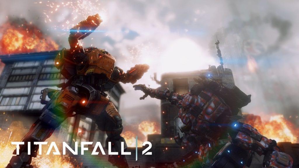 Epic Titan Fall Wallpaper Titanfall 2 Announces Free Pc Multiplayer Period Pc Invasion