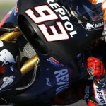Marc Márquez, el más rápido de los test de MotoGp en Valencia