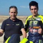 Xavier Pinsach, con el MR Griful en el FIM CEV en Valencia