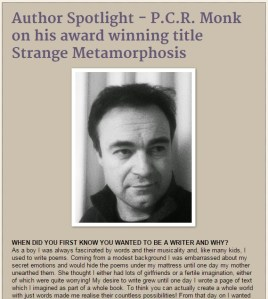 Paul CR Monk - author interview