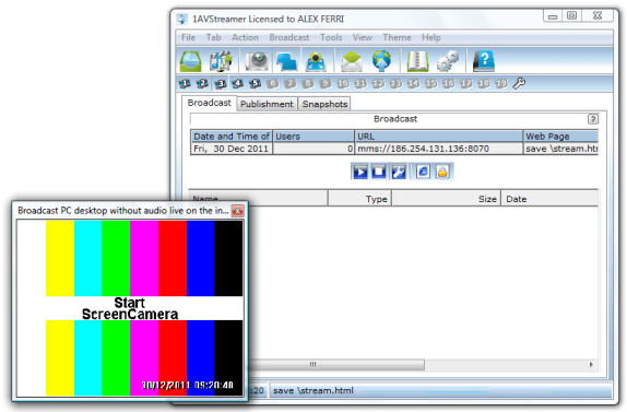 1avstreamer2 [GIVE AWAY] 1AVStreamer professional broadcaster FREE