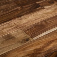 "Prefinished Handscraped-Acacia Natural 11/16"" x 3 1/2 ..."