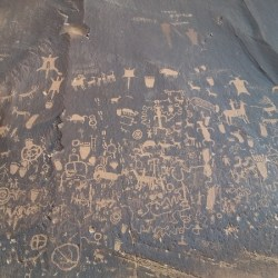 Newspaper Rock Petroglyphs, Island in the Sky, Canyonlands, Utah