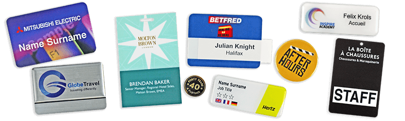 Professional Quality Badges For Staff Conferences And