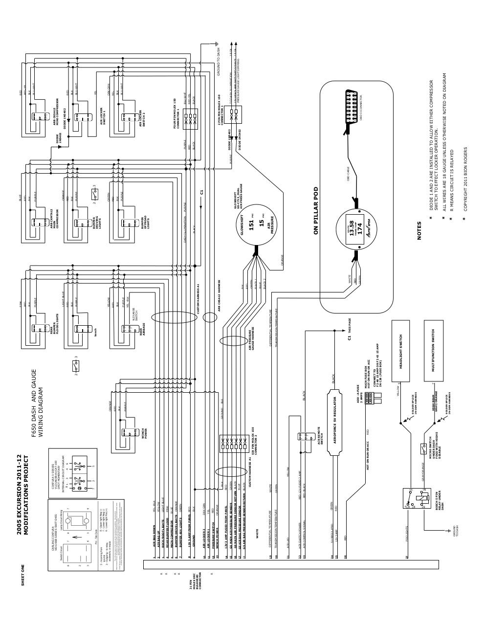 1 line wiring diagram