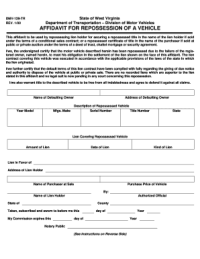 2000 Form WV DMV-129-TR Fill Online, Printable, Fillable ...