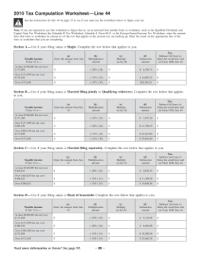 Tax Worksheet. Worksheets. Tutsstar Thousands of Printable ...