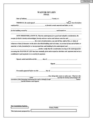Lien Release Form Mn | Recruiter Coordinator Job Description