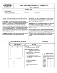 employee performance evaluation form doc Templates ...