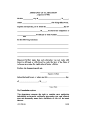 affidavit example Forms and Templates - Fillable ...